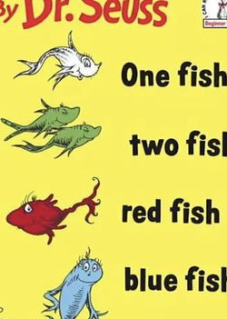 Dr. Seuss 132 Fish red Fish blue Fish ( Serious Buyers) for Sale in Fairburn,  GA