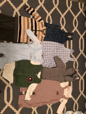 Baby boy fall/winter clothes 3-6 months for Sale in Murfreesboro, TN