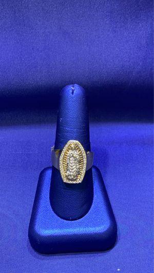 10K virgin de Guadalupe ring for Sale in Greensboro, NC