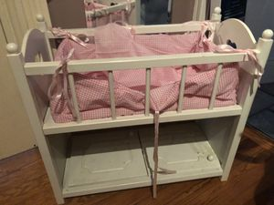 American girl Bitty baby crib for Sale in Dudley, MA