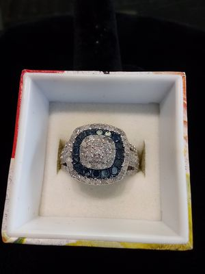 Silver diamond ring for Sale in Milwaukie, OR