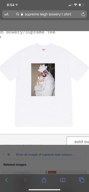 Supreme Leigh Bowery tee for Sale in Las Vegas, NV