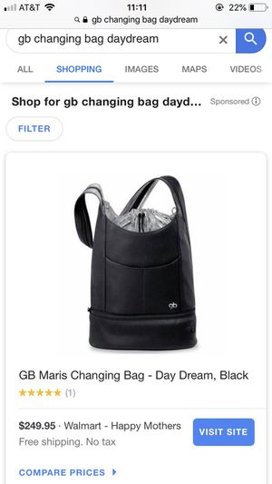 Cybex platinum GB daydream diaper changing bag for Sale in Potomac, MD