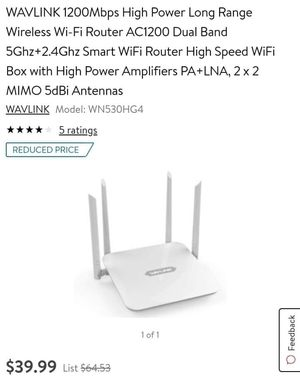New Wavlink Wireless Router for Sale in Columbus, OH