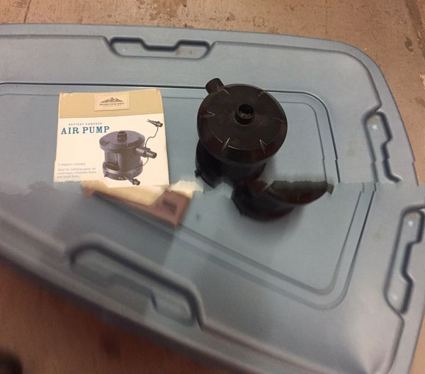 Northwest Territory Air Pump Battery Operated