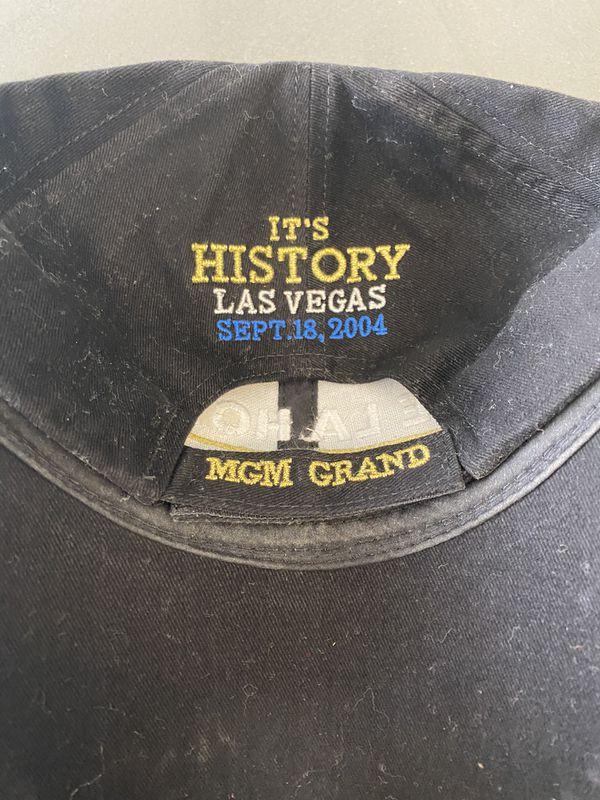 De La Hoya vs Hopkins Boxing Collectible Cap