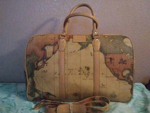 World map duffle bag for Sale in Rialto, CA