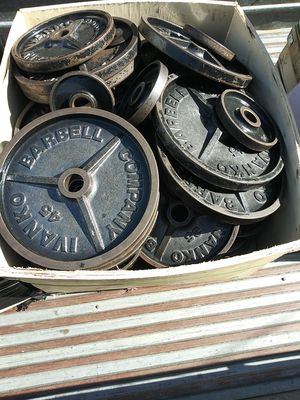 IVANKO.. STELL WEIGHTS for Sale in Riverside, CA