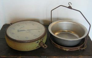 Old Metal Hanging Grocery Produce Scale for Sale in Poulsbo, WA
