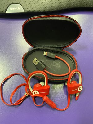 Beats by Dr. Dre Powerbeats3 In Ear Headphone - Red for Sale in Greensboro, NC