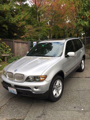2004 BMW X5 4.4i AWD LOW MILES (Hablo español) for Sale in Seattle, WA
