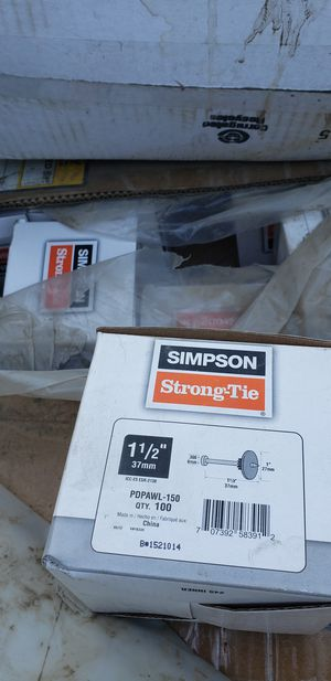 Simpson strong tie for Sale in Buena Park, CA