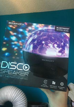 Merkury Innovations Disco Bluetooth Speaker for Sale in Los Angeles, CA