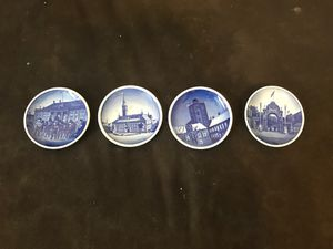 3-1/4 Denmark collection plates ... for Sale in Nashville, TN
