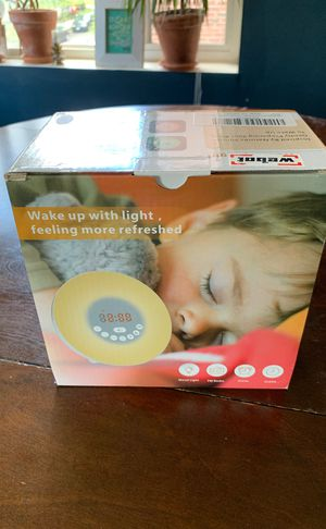 Sunrise Alarm Clock with Digital LED Clock and Bluetooth Speaker for Sale in Washington, DC