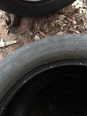 P225/60R17 used tires 2 for Sale in Oakton, VA