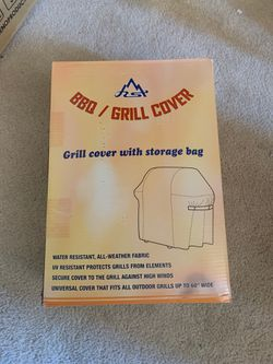 BBQ grill cover with storage bag for Sale in Manassas Park,  VA