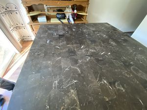 Real Marble kitchen table for Sale in Sellersville, PA
