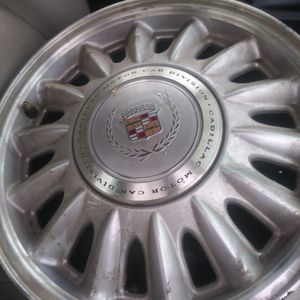5 Lug 17inch Cadillac Rims All 4 $200 for Sale in Ypsilanti, MI