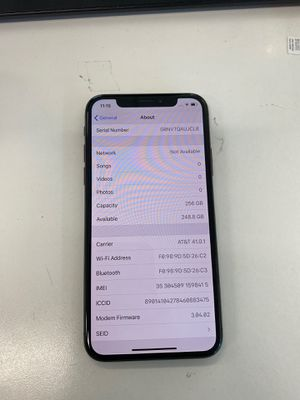 UNLOCKED IPHONE X 256GB for Sale in West Covina, CA