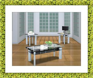3pc Glass coffee table for Sale in Gambrills, MD