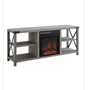 Farm Style Fireplace TV stand for Sale in Jane Lew, WV