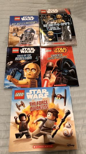 Star Wars LEGO Books for Sale in South Riding, VA