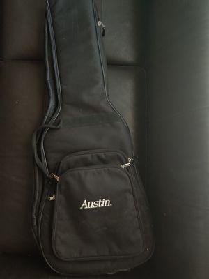 Austin soft guitar case gig bag for Sale in St. Petersburg, FL