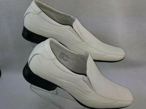 """Delli Aldo """"Ezra M-18675"""" Men's Classic Slip-On Square Toe Dress Loafers White Size 10 to 13 for Sale in Detroit, MI"""