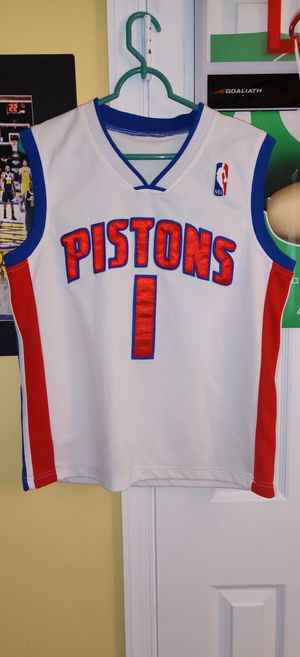 Allen Iverson pistons jersey sz youth xl for Sale in North Springfield, VA