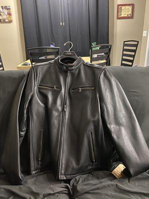 Docker GENUINE Leather motorcycle jacket for Sale in Boynton Beach, FL