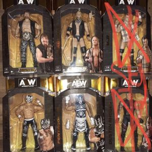 AEW Unrivaled Series 2 Wrestling Action Figures for Sale in Orlando, FL