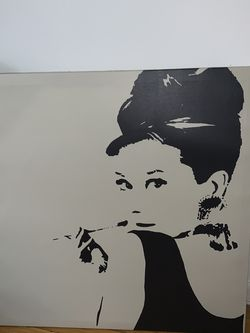 audrey hepburn canvas for Sale in New York,  NY