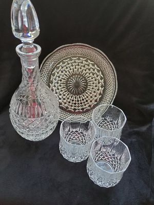 Whysky decanter and goblets for Sale in Germantown, MD
