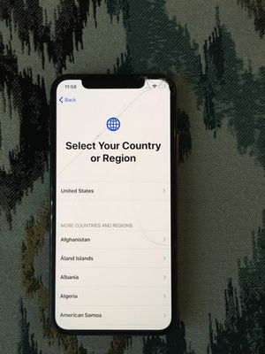 iPhone X , sprint carrier locked for Sale in Fraser, MI