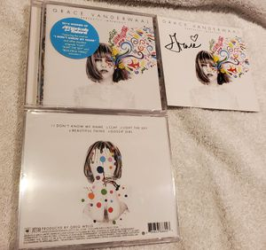 Grace vanderwaal signed CD booklet and new CD for Sale in Aurora, CO