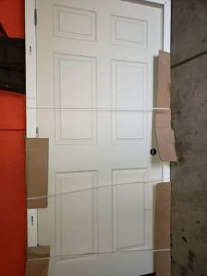 White door with frame for Sale in Joliet, IL