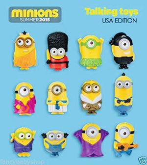 Talking toy minions from McDonald's set for Sale in West Covina, CA
