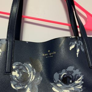 Kate Spade Reversable Tote Size Dark Blue Bag for Sale in Queens, NY