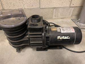 Flotec electric motor and strainer for Sale in Whittier, CA