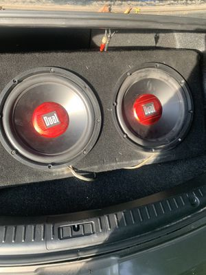 12inch subwoofer and amp for Sale in NEW PRT RCHY, FL