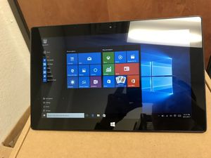 "Surface pro 2 64gb SSD 4gb ram i5 1.90ghz up to 2.5ghz 10.6"" screen sizes ""TOUCH SCREEN"" Windows 10 professional Surface pro 2 64gb SSD 4gb ram i5 for Sale in Dallas, TX"
