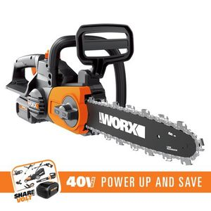 """WORX 40V 12"""" Cordless Chainsaw with Auto-Tension Model #: WG380 for Sale in Orlando, FL"""