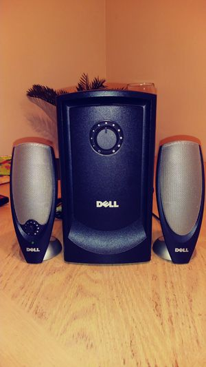 DELL MULTIMEDIA SPEAKER SYSTEM WITH SUBWOOFER for Sale in Sacramento, CA