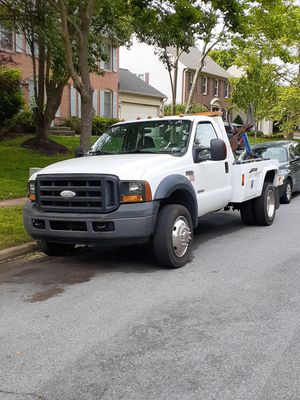 2006 Ford F550 Super duty Tow Truck for Sale in Rockville, MD