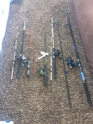 fishing rods for Sale in Arlington, VA