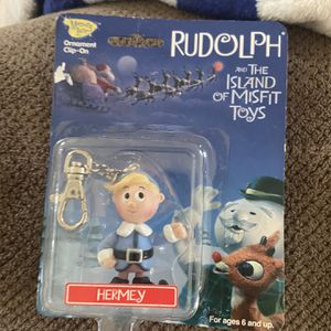 Rudolph And The Island Of Misfit Toy/Ornament Clip-on for Sale in Gainesville, GA