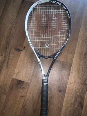 Adult Tennis Racket - Black with stop shock pads for Sale in Denver, CO