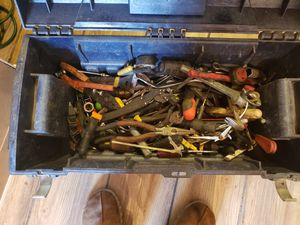 Various tools includes tool box for Sale in Columbus, OH