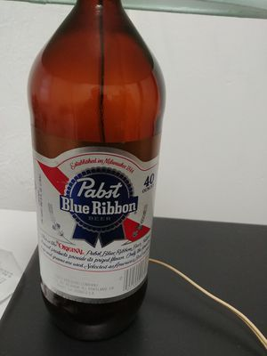 Pabst Blue Ribbon PBR Lamp With Shade for Sale in Cleveland, OH